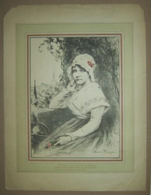 Henri Royer print WW1