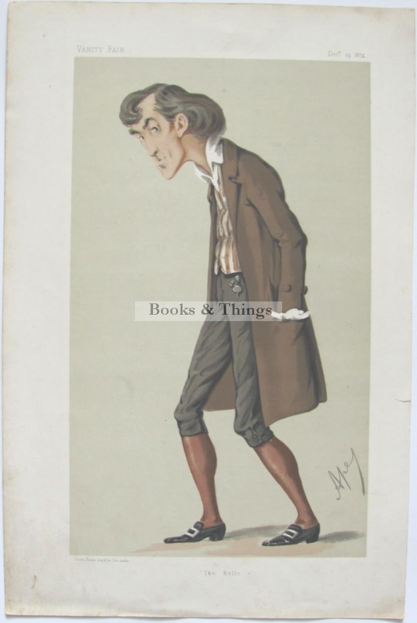 Henry Irving Vanity Fair print