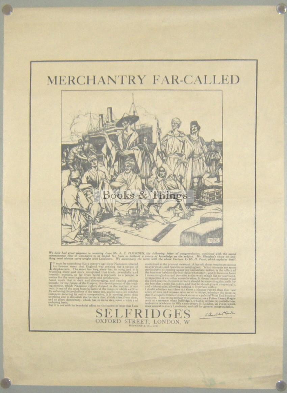 Herbert Pizer Selfridges poster