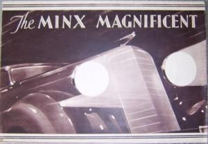 Hillman Minx brochure