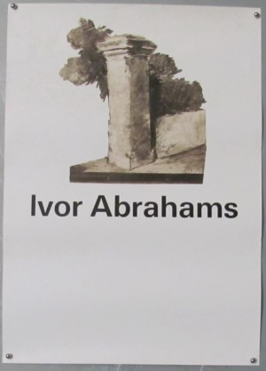 ivor-abrahams-exhibition-poster