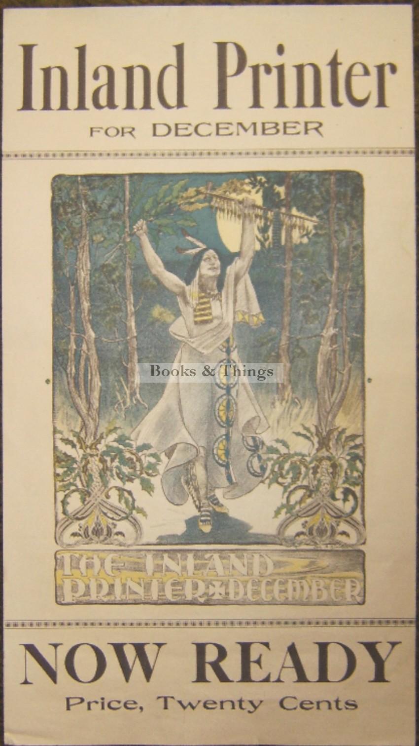 J. Biirren Inland Printer postter