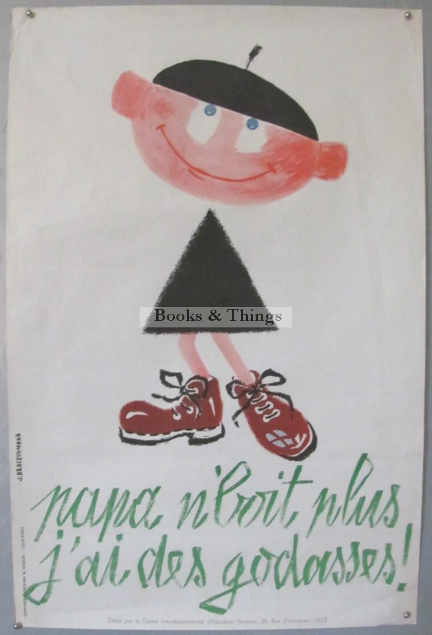 Jacques Bracquemond anti-drink poster