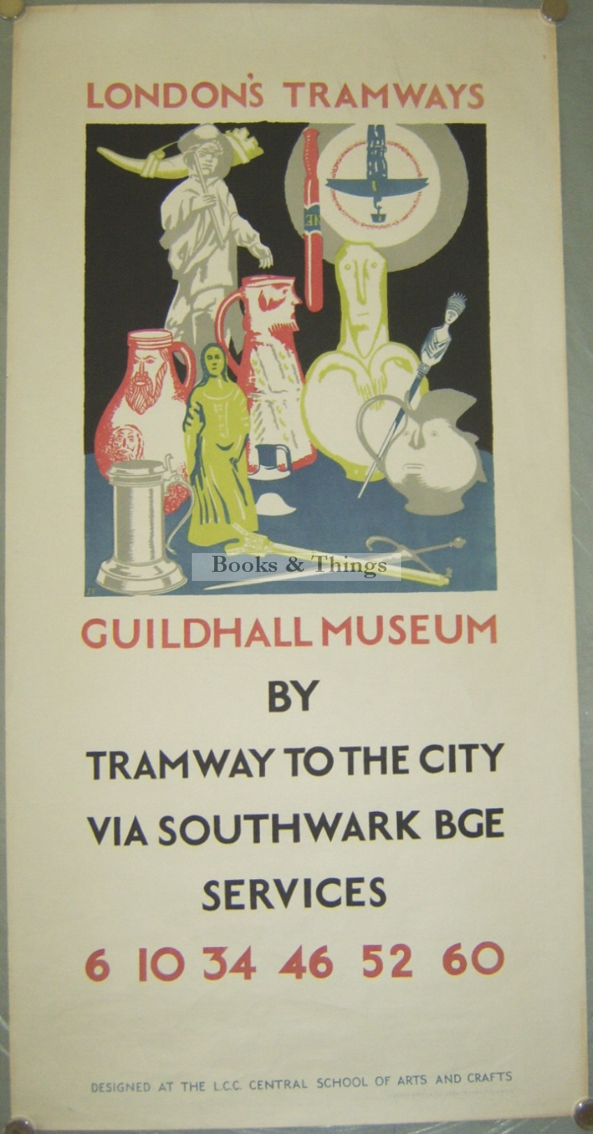 James Fitton poster Guildhall Museum