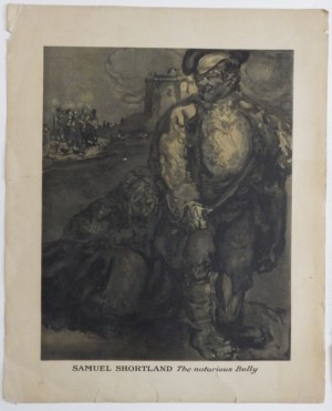 James Pryde lithograph Samuel Shortland
