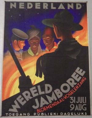 Jan Lavies Scout Jamboree poster