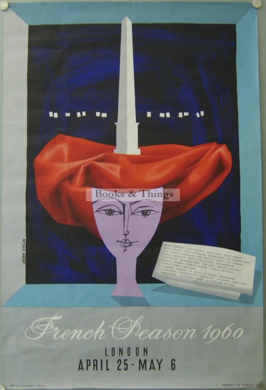 Jean Colin poster French Season