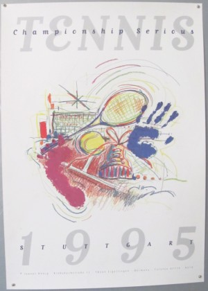 Jeanet Honig Tennis Tournament poster