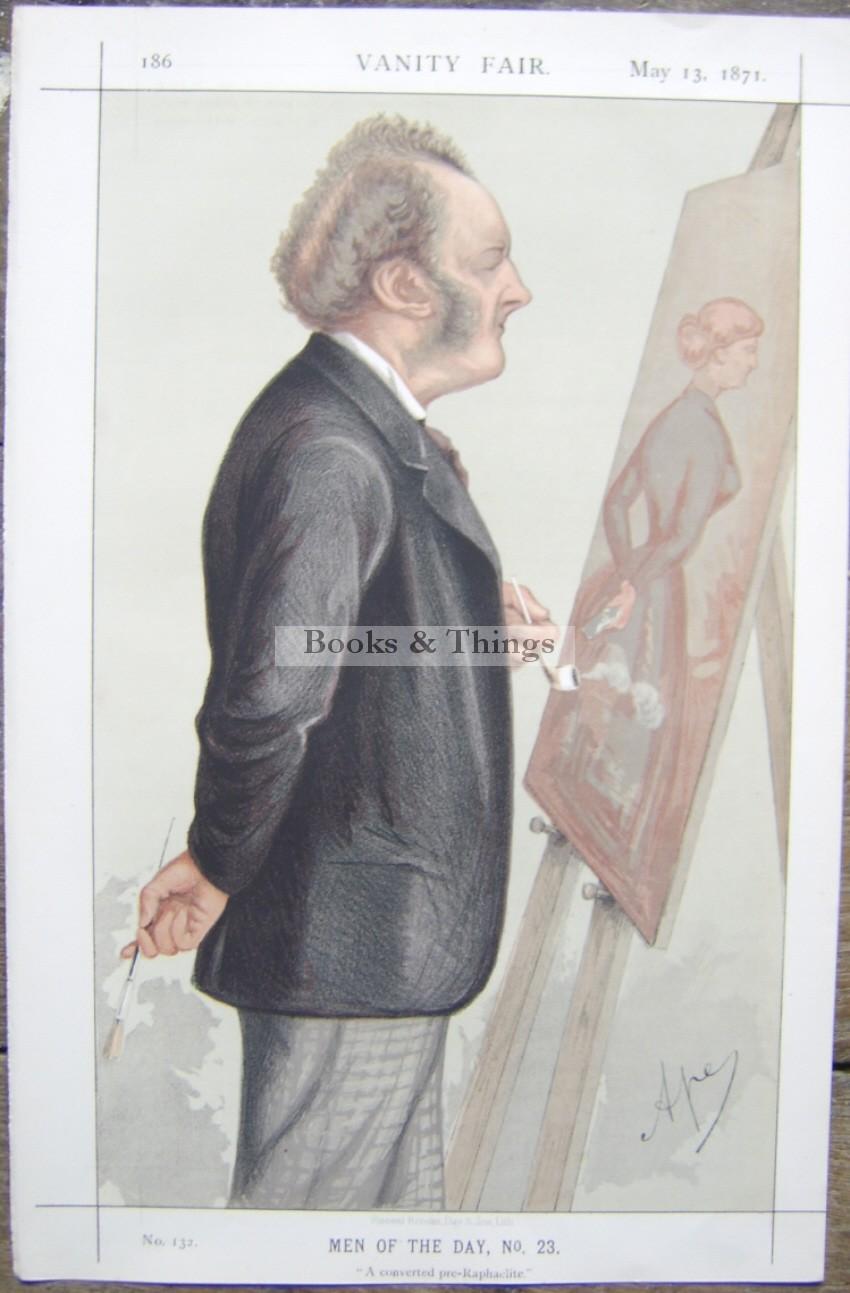 John Everett Millais Vanity Fair print