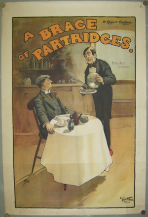 John Hassall poster A Brace of Partridges