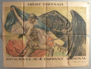 Jules Abel Faivre poster Credit Lyonnais