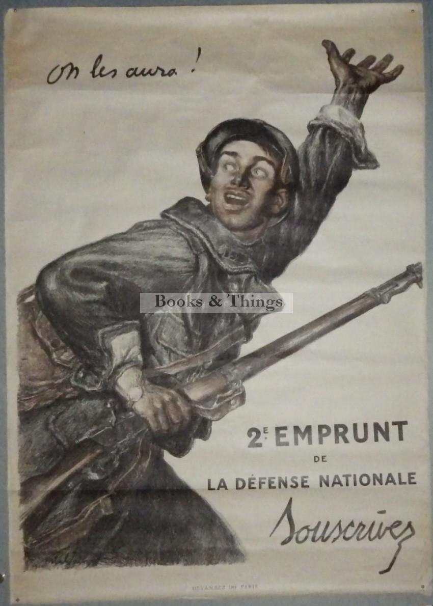 Jules Abel Faivre poster On Les Aura