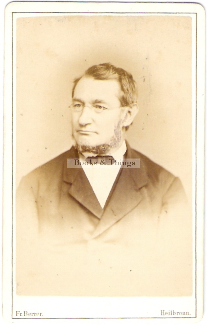 Julius Robert von Mayer carte-de-visite