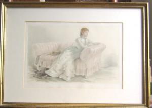 Lady Florence Dixie Vanity Fair print