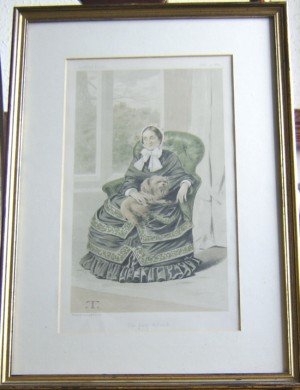Lady Holland Vanity Fair print