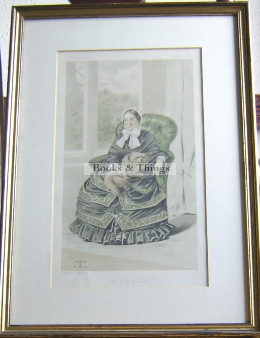 Lady Holland Vanity Fair print
