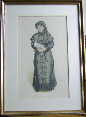 Lady Weldon Vanity Fair print