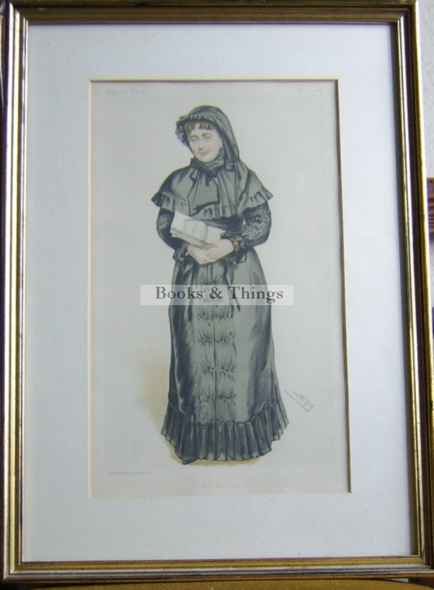 Lady Weldon Vanity Fair print