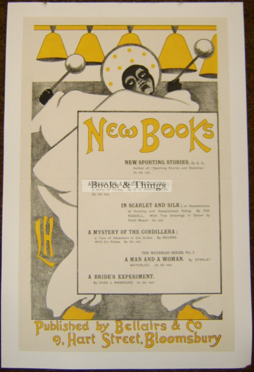 Laurence Housman poster New Books
