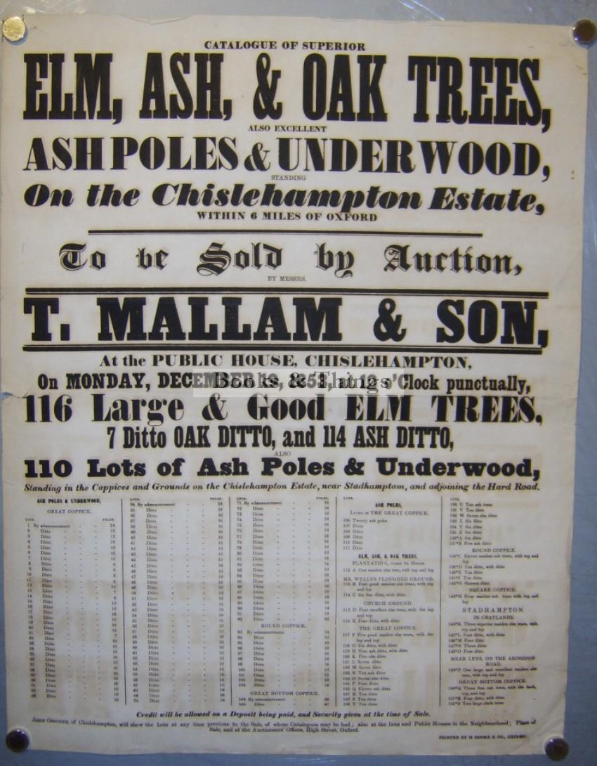 mallams-auction-poster-chislehampton
