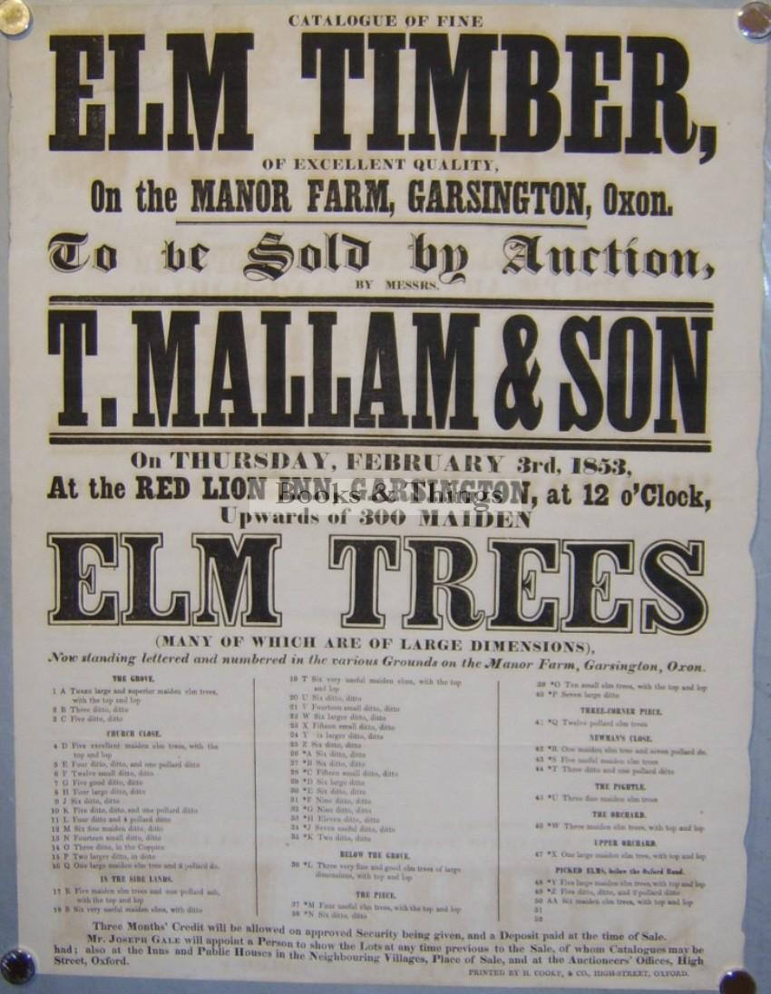 mallams-auction-poster-garsington