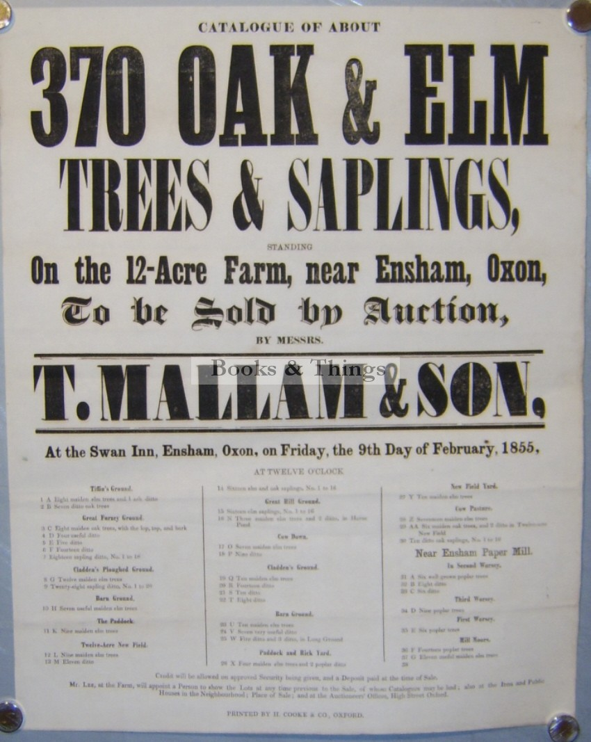 mallams-auction-poster-timber