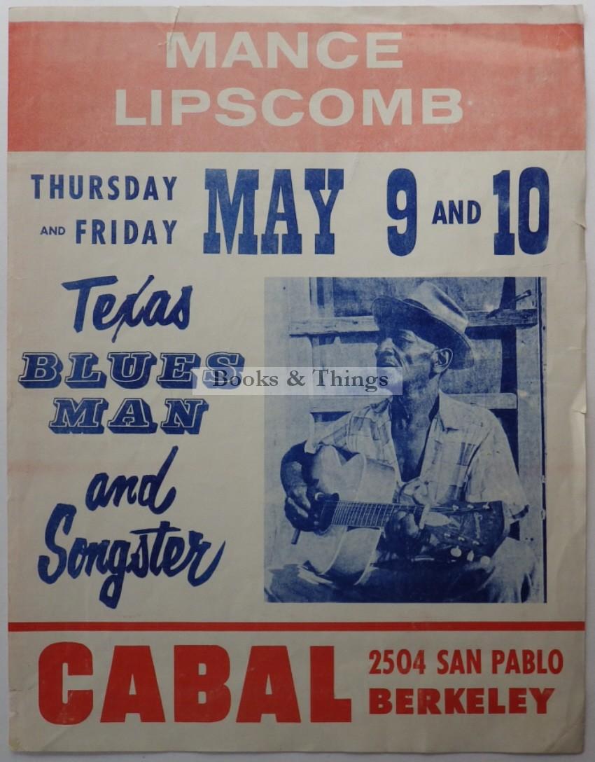 Mance Lipscomb poster