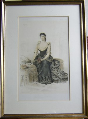 Marchioness of Tweedale Vanity Fair print