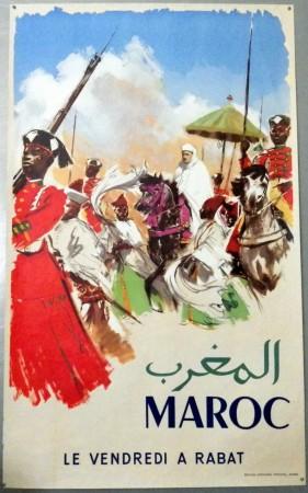 Maroc (Morocco) poster