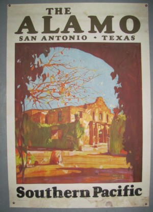 Maurice Logan poster The Alamo