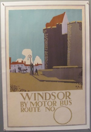 McKnight Kauffer poster Windsor