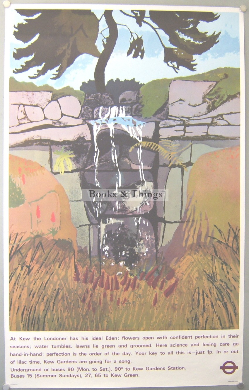 Michael Carlo poster Kew Gardens