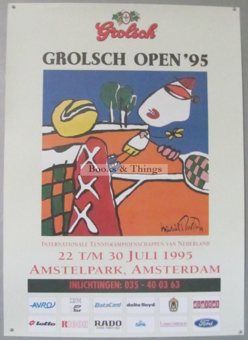 Michel Poort Grolsch Open Tennis tournament 1995