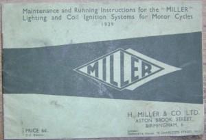 Miller Coil Ignition System booklet