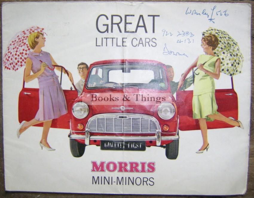 Morris Mini brochure
