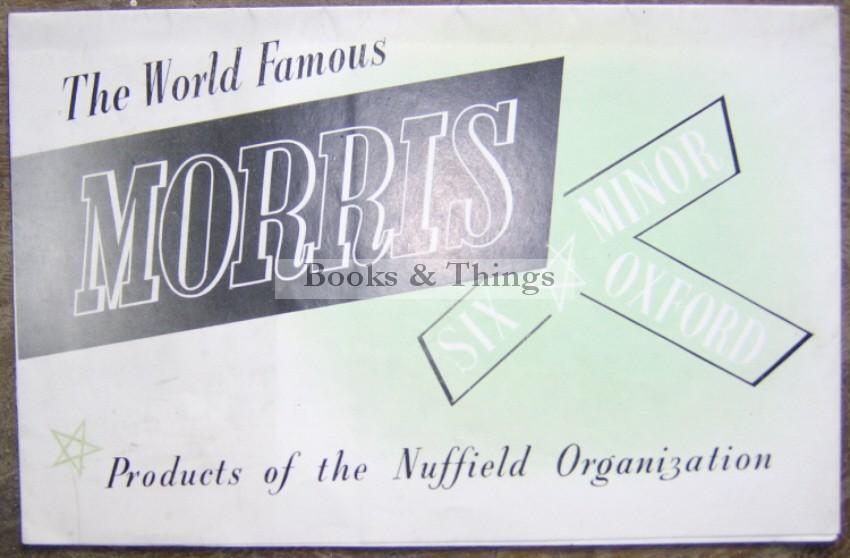 Morris Minor brochure