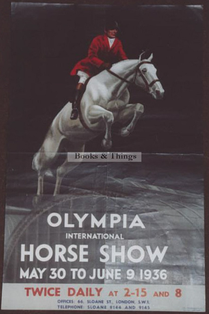 Olympia Horse Show poster 1936