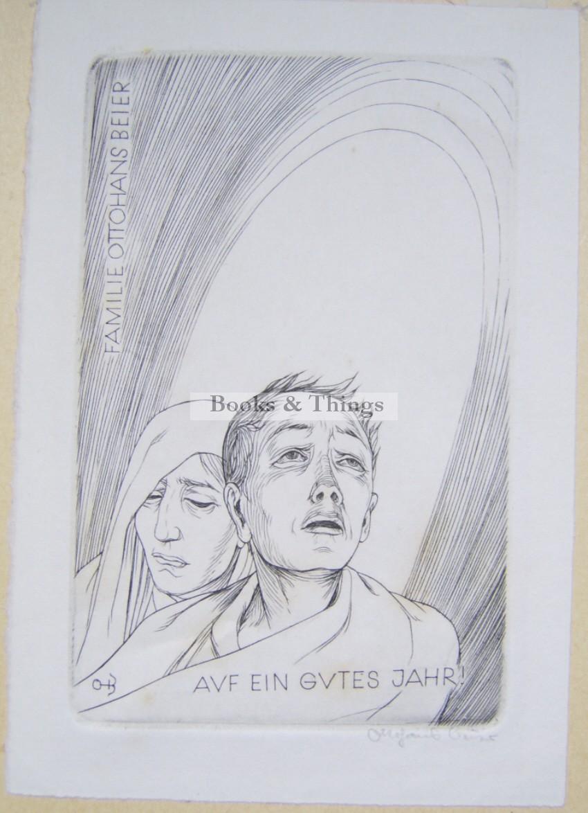 Otto Hans Beier Christmas card