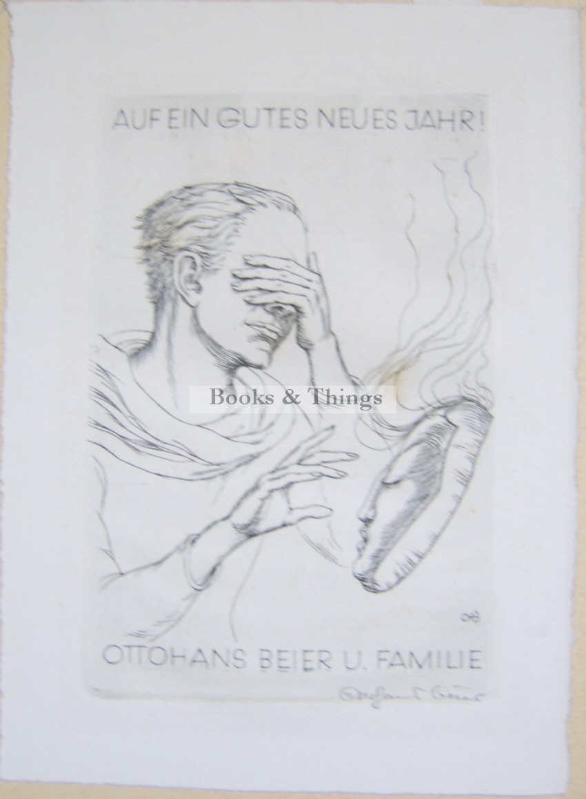 Otto Hans Beier Christmas card2