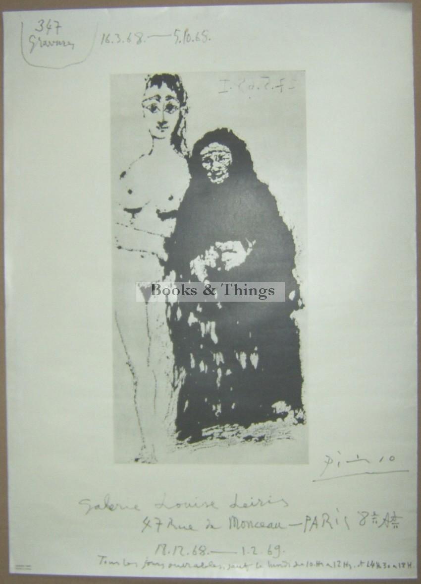Pablo Picasso poster Galerie Louise Leiris