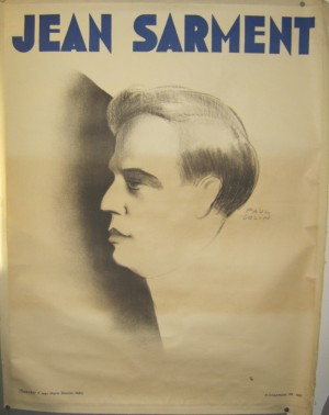 Paul Colin poster Jean Sarment