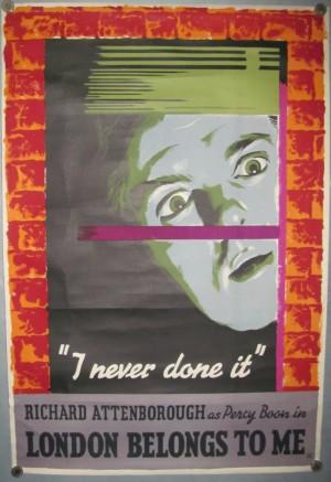 Percy Brookshaw poster London Belongs to Me