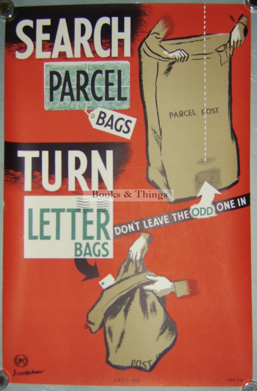 Percy Brookshaw poster Search Parcel Bags