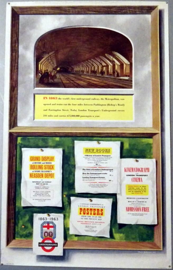 Peter Roberson poster Centenary