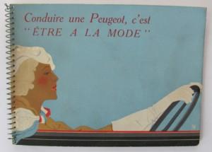 Peugeot 201 & 301 brochure