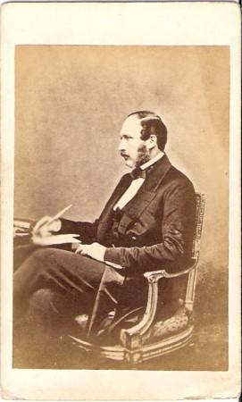 Prince Albert seated photograph