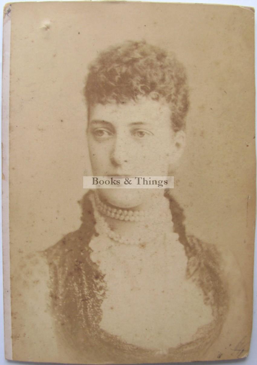 Princess Alexandra cabinet photograph