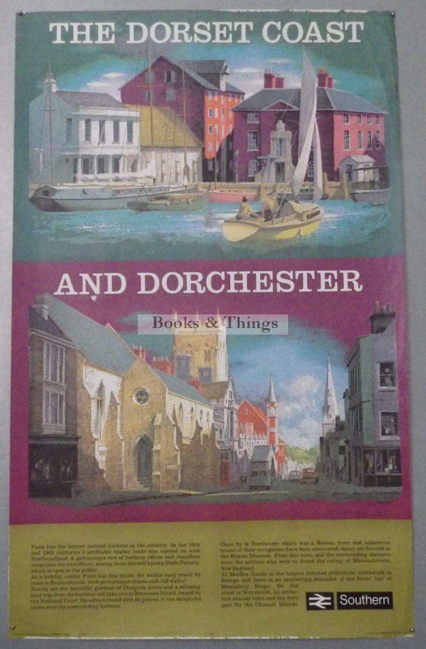 Reginald Lander poster Dorset Coast