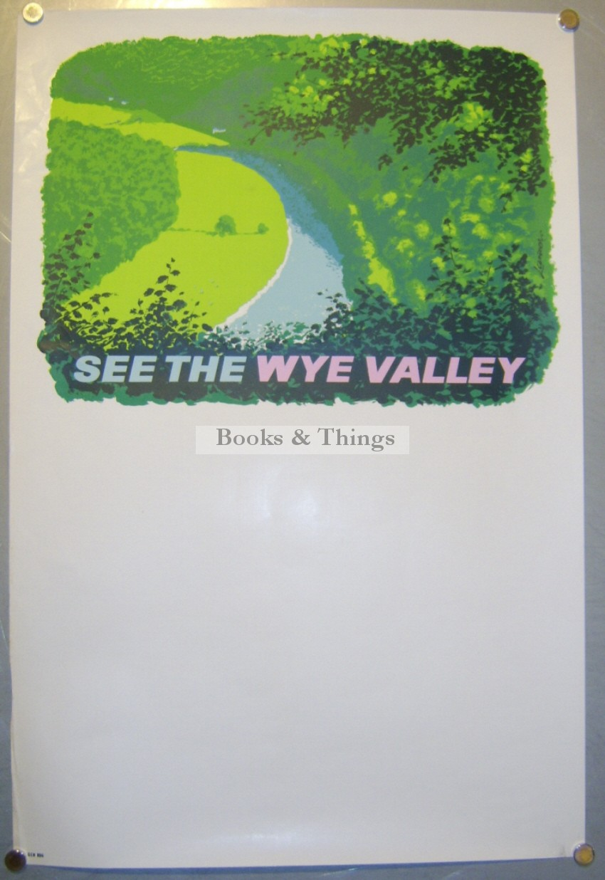 Reginald Lander poster Wye Valley