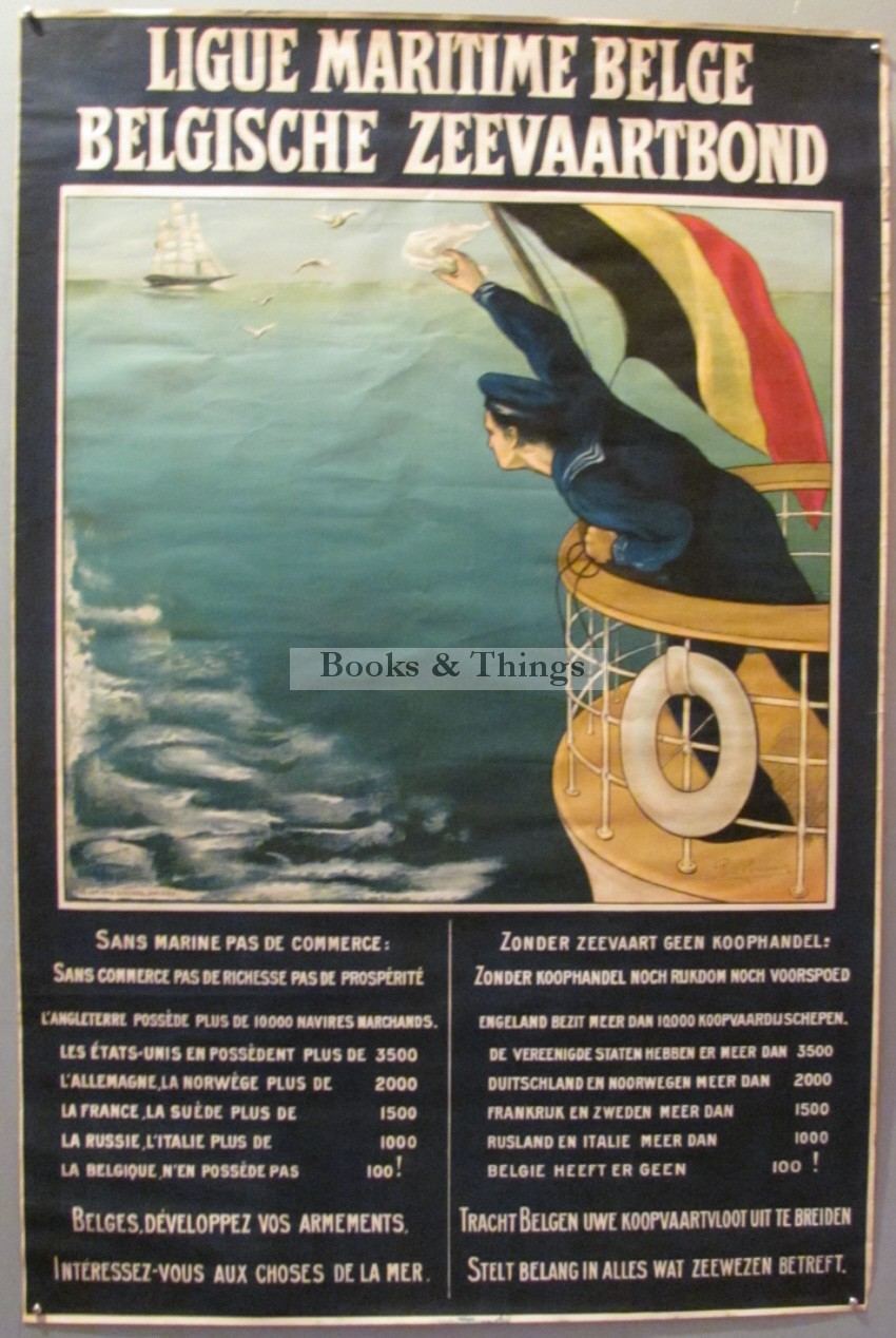 Rene Lombourk poster Ligue Maratime